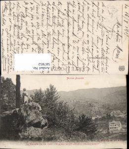 587852,La Vallee de la Thur Vue sur Saint-Amarin Haute Alsace France