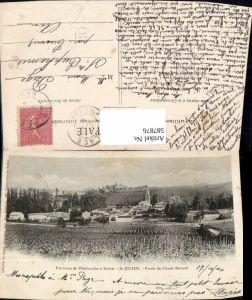 587876,Environs de Villefranche sur Saone St Julien Patrie de Claude Bernard France