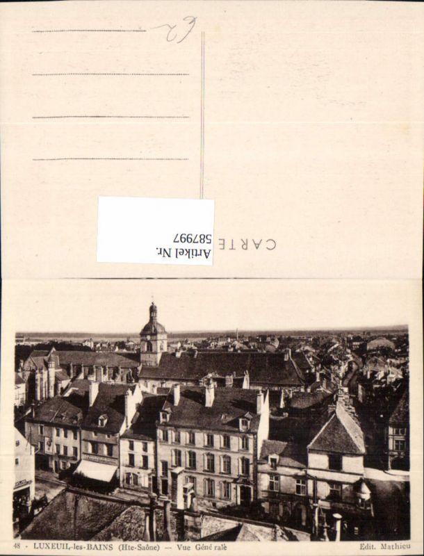 587997,Luxeuil-les-Bains Haute Saone Vue Generale France