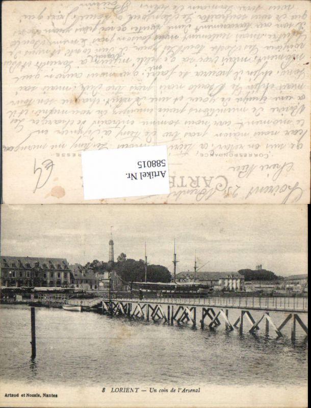 588015,Lorient Un coin de l Arsenal Brücke France