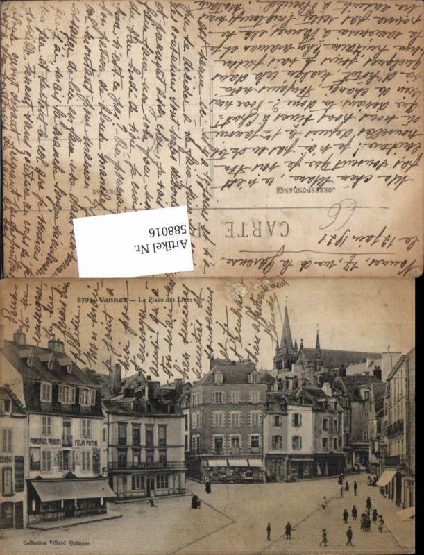 588016,Vannes La Place des Lices France