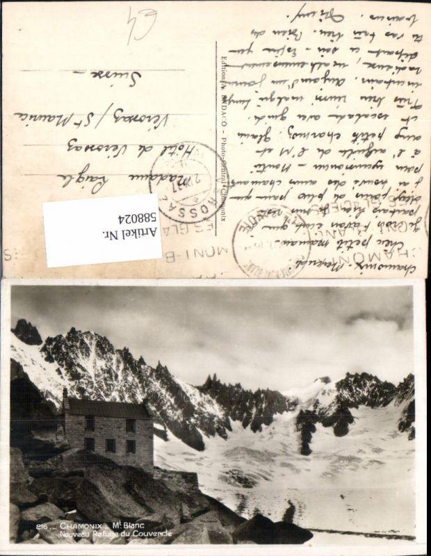 588024,Chamonix-Mont-Blanc Chamonix Mont Blanc Nouveau Refuge du Couvercle France