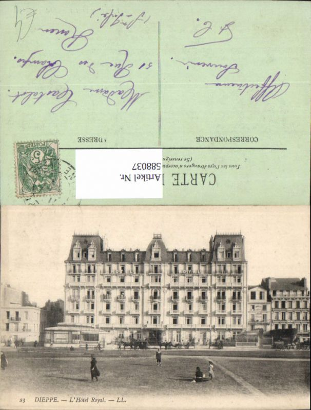 588037,Dieppe L Hotel Royal France
