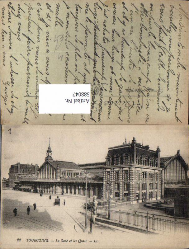 588047,Tourcoing La Gare et les Quais Bahnhof France