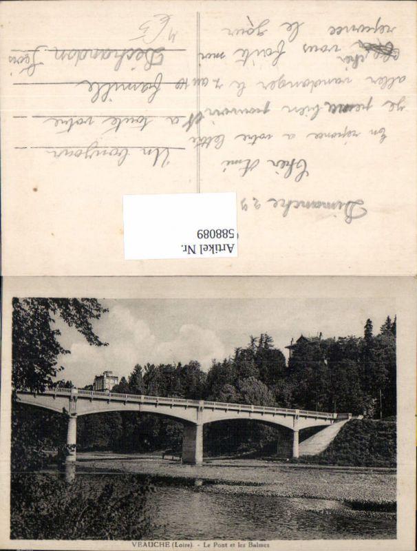 588089,Veauche Loire Le Pont et les Balmes Brücke France