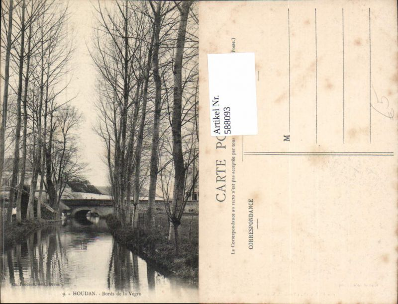 588093,Houdan Bords de la Vegre Brücke France