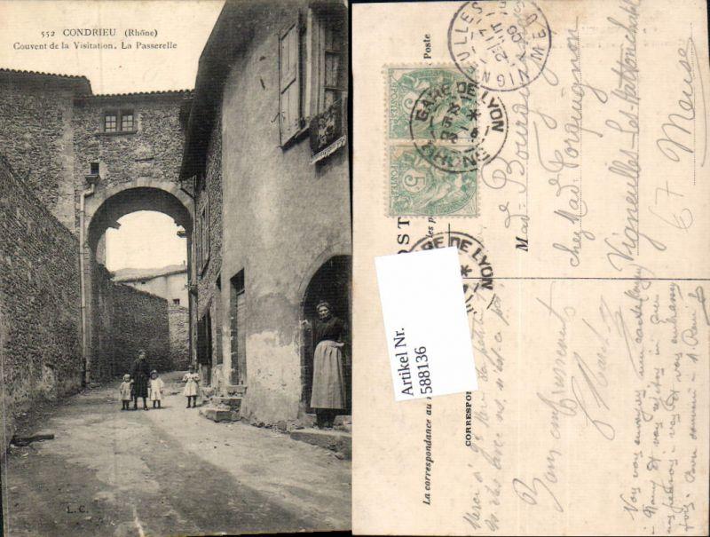 588136,Condrieu Rhone Couvent de al Visitation La Passerelle France