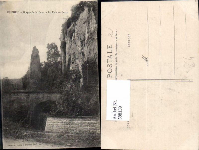 588139,Cremieu Isere Gorges de la Fusa Le Pain de Sucre France