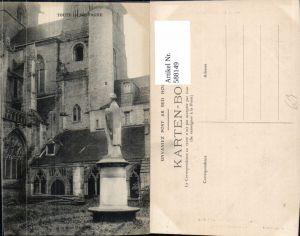 588149,Toute La Bretagne Preguier La Cathedrale Kathedrale Statue France