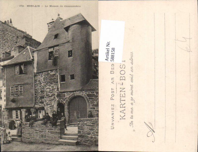 588158,Morlaix La Maison du Commandeur France