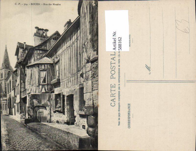 588162,Rouen Rue de Matelas France