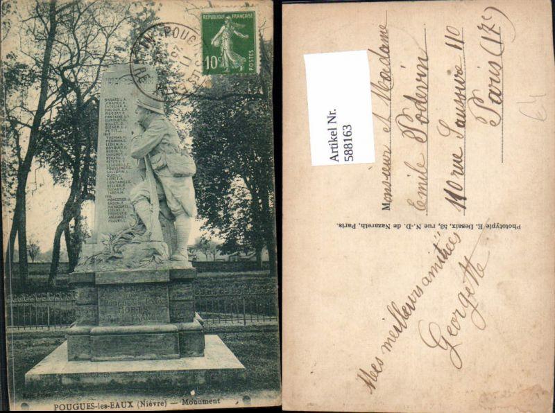 588163,Pougues-les-Eaux Nievre Monument France
