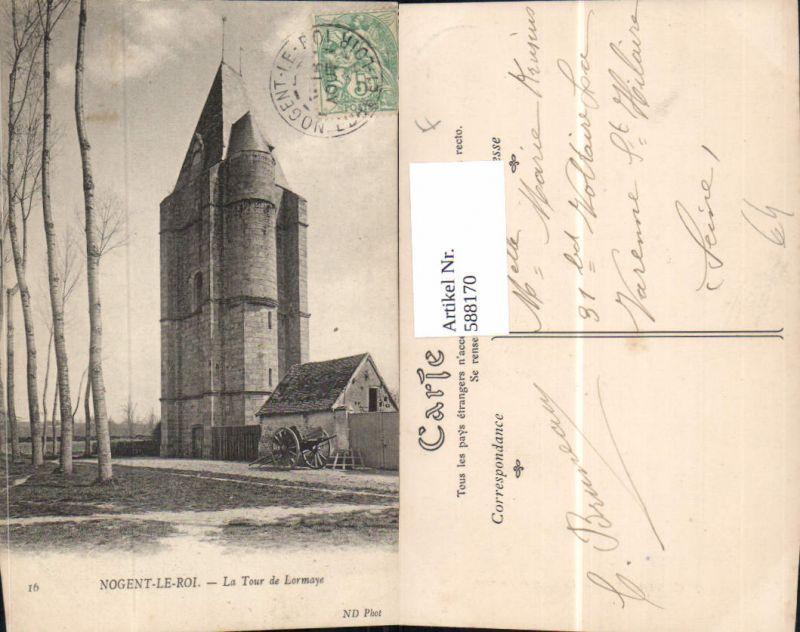 588170,Nogent-le-Roi La Tour de Lormaye Turm France