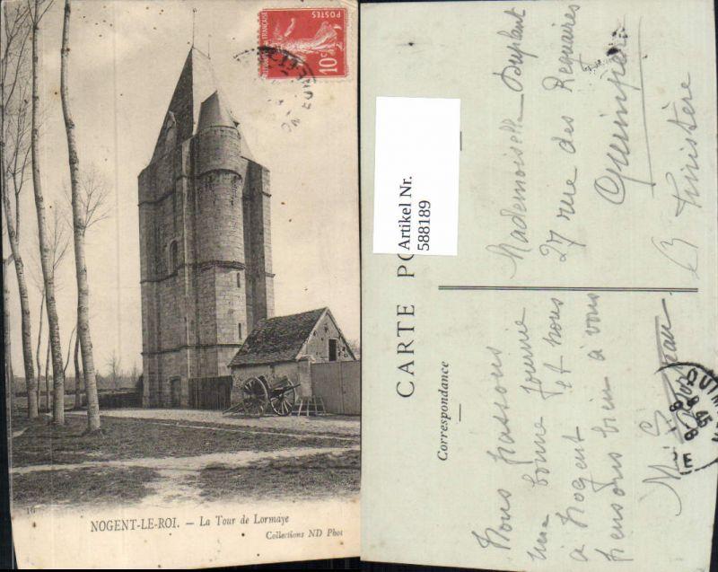 588189,Nogent-Le-Roi La Tour de Lormaye Turm France