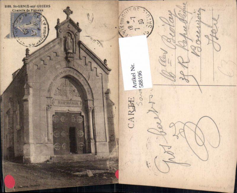 588196,St-Genix-sur-Guiers Chapelle de Pigneux Kirche France