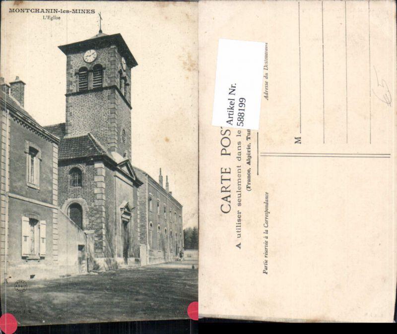 588199,Montchanin-les-Mines L Eglise Kirche France