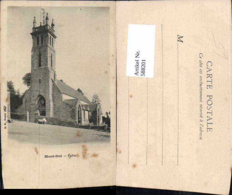 588201,Mont-Dol Eglise Kirche France