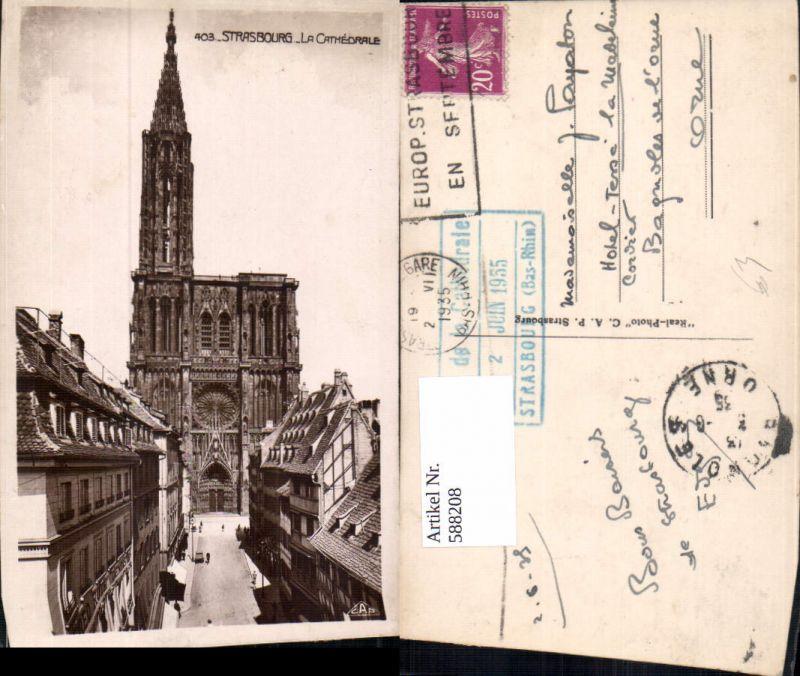 588208,Strasbourg Straßburg La Cathedrale Kathedrale France