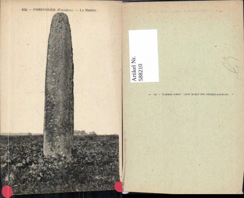 588210,Porspoder Finistere Le Menhir France