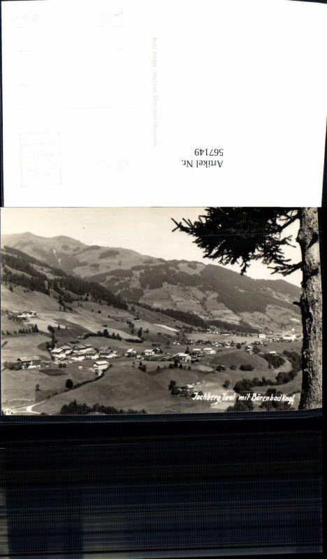 567149,Foto Ak Jochberg Tirol m. Bärenbadkogl Ansicht