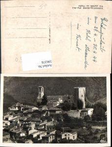 596378,Vernet-les-Bains Vue partielle sur l Eglise Kirche France