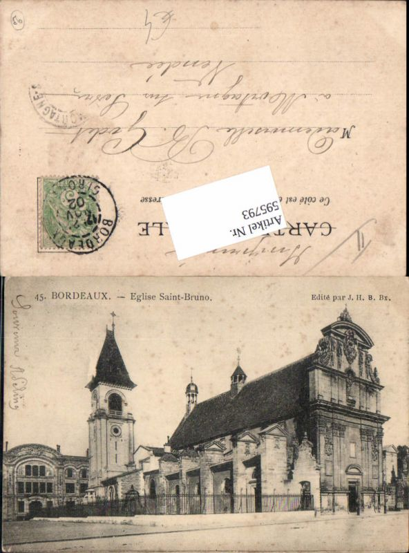 595793,Bordeau Eglise Saint-Bruno Kirche France