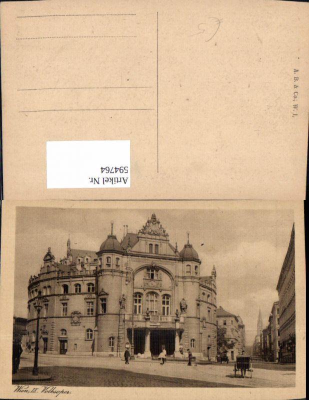594764,Wien Alsergrund Volksoper Vienna