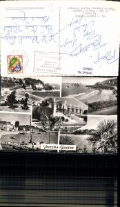 596811,Mehrbild Ak Perros-Guirec Le Casino Le Port Plage de Trestraou Strand Kasino Hafen France
