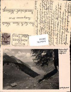 598164,Foto Ak Bärenbadalm m. Achensee Pertisau Eben a. Achensee