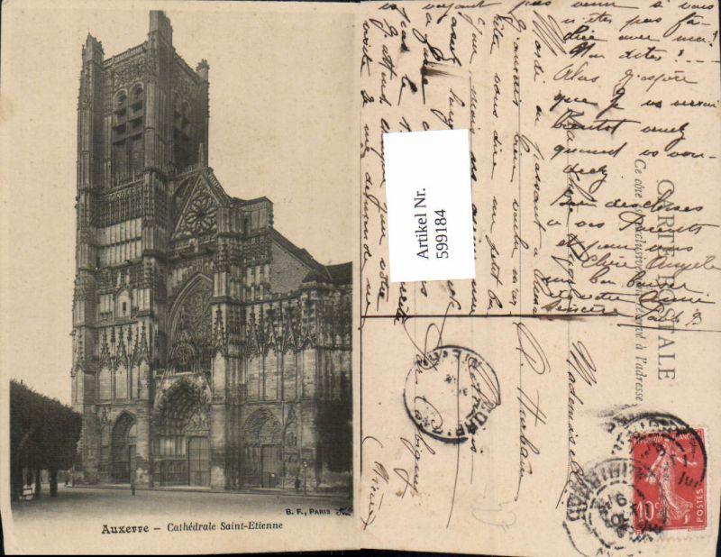 599184,Auxerre Cathedrale Saint-Etienne Kathedrale France