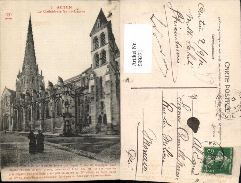 599271,Autun La Cathedrale Saint-Lazare Kathedrale France
