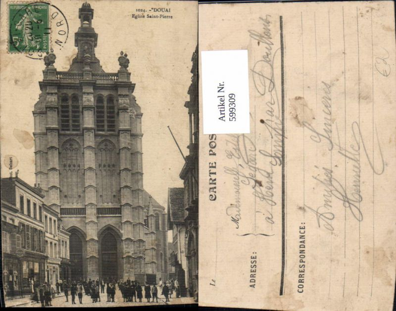 599309,Douai Eglise Saint-Pierre Kirche France