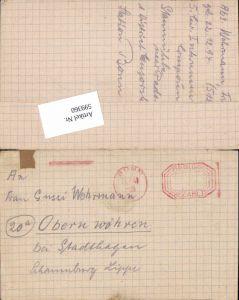 599360,Kriegsgefangenenpost POW Bonn 5. Civilian Internment Camp Obernwöhren Stadthagen Hannover