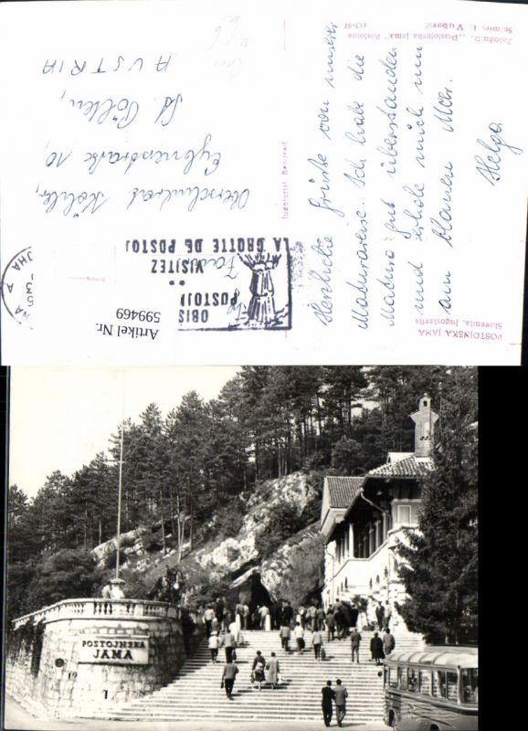 599469,Postojnska Jama Bus Slovenia Postojna Adelsberg Grotte