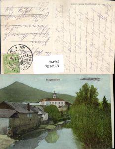 599494,Fögymnasium Stempel Nagypolany Hungary Takcsány