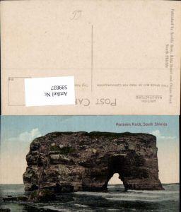 599837,Marsden Rock South Shields Gesteinsformation Great Britain
