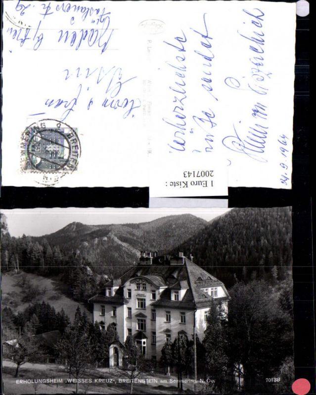 2007143,Breitenstein am Semmering Erholungsheim Weißes Kreuz