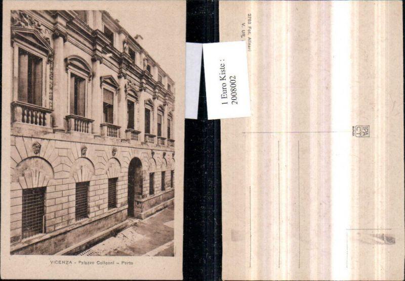 2008002,Vicenza Palazzo Colleoni Porto Palast