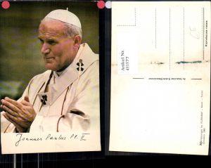431377,Papst Johannes Paul II Portrait Religion