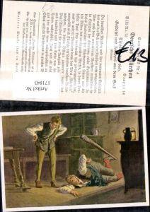 171843,Deutsche Märchen Sammelbild Paul Hey Tischlein deck dich Goldesel u. Knüppel a. d. Sack v. Grimm