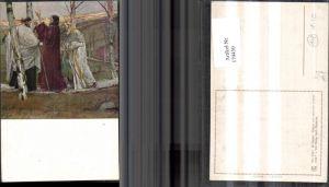 179450,Künstler Ak R. Kuder Religion Der Gang n. Emmaus