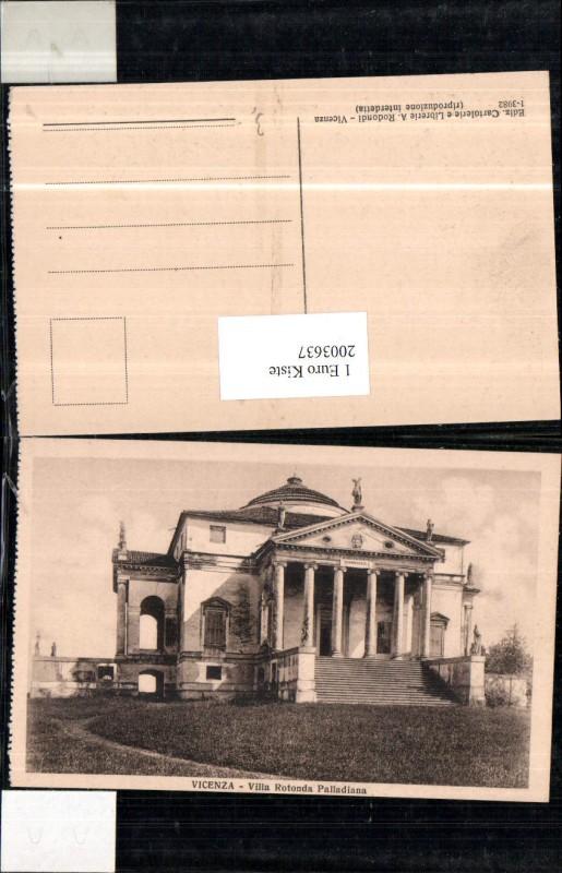 2003637,Vicenza Villa Rotonda Palladiana