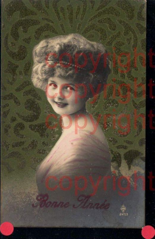 465899,Material Karte Satin Frau Mädchen Haarband Portrait