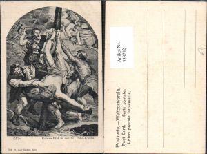 338782,Künstler Ak Peter Paul Rubens i. d. St Peter Kirche Cölm Religion