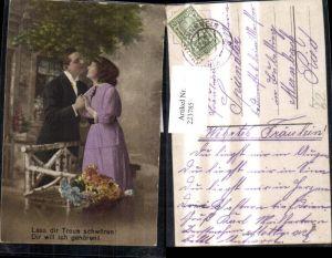223785,Liebe Liebespaar Kuss Lass dir Treue schwören Dir will ich gehören