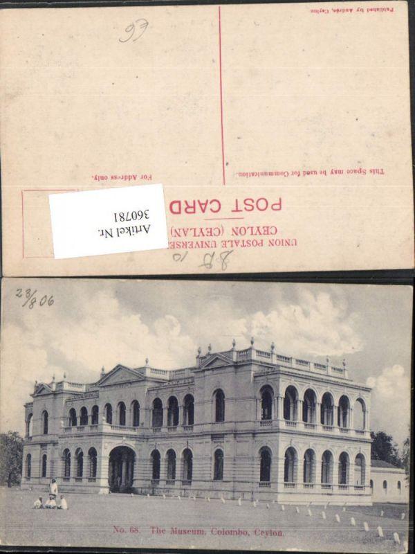 360781,Sri Lanka Ceylon Colombo The Museum Gebäude