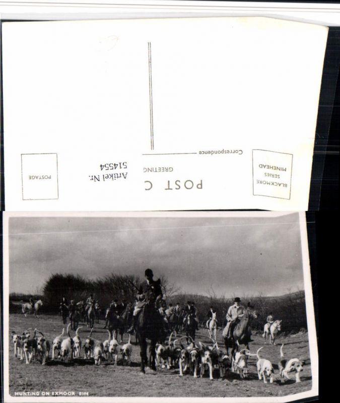 514554,Hunting on Exmoor Jagd Jäger Pferde Jagdhunde Hunde