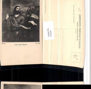 521624,Künstler AK Van Dyck Cristo della Moneta Jesus Christus
