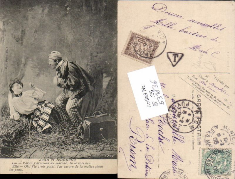 531836,Frau Liebe Paar Humor Jean et Jeannette Erotik