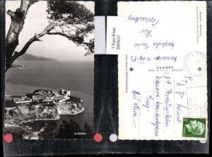 2005625,Monaco Le Rocher et vue sur l'Italie Totale